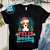 Feliz Navidog Beagle Christmas Tree PNG, Beagle PNG, Christmas Tree PNG, Merry
