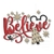 Believe Mickey Mouse Tinkerbell Merry Christmas disney Embroidery Machine
