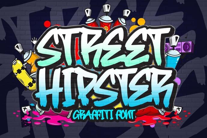 Graffiti Font, Handwritting Font, Script Font, Premium Font, Hand Drawn Font,