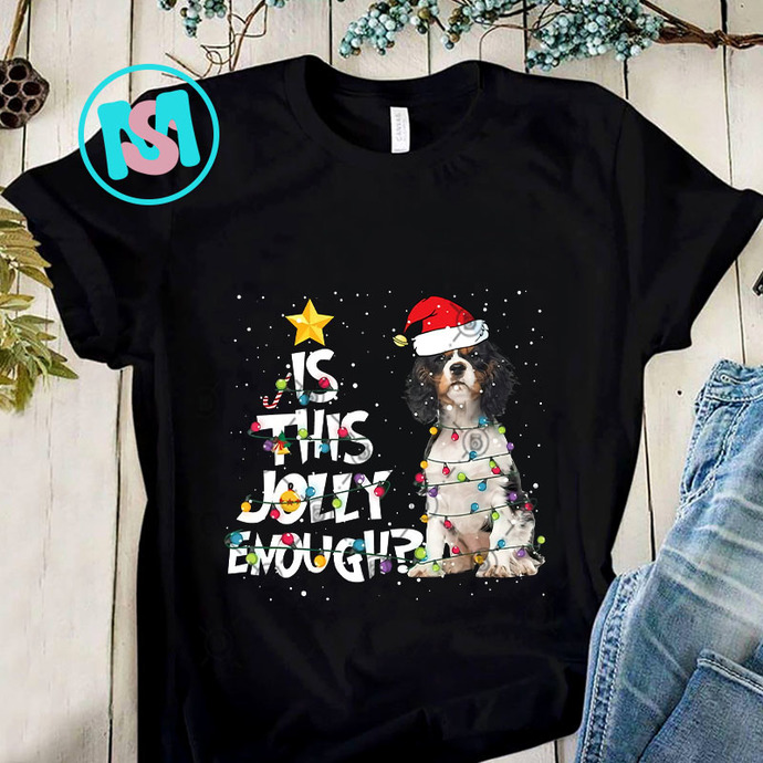 Is This Jolly Enough Cavalier King Charles Spaniel PNG, Cavalier King Charles