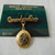 vintage Sarah Coventry Grandmother locket pin gold