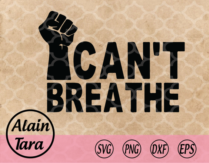 Can't Breathe svg