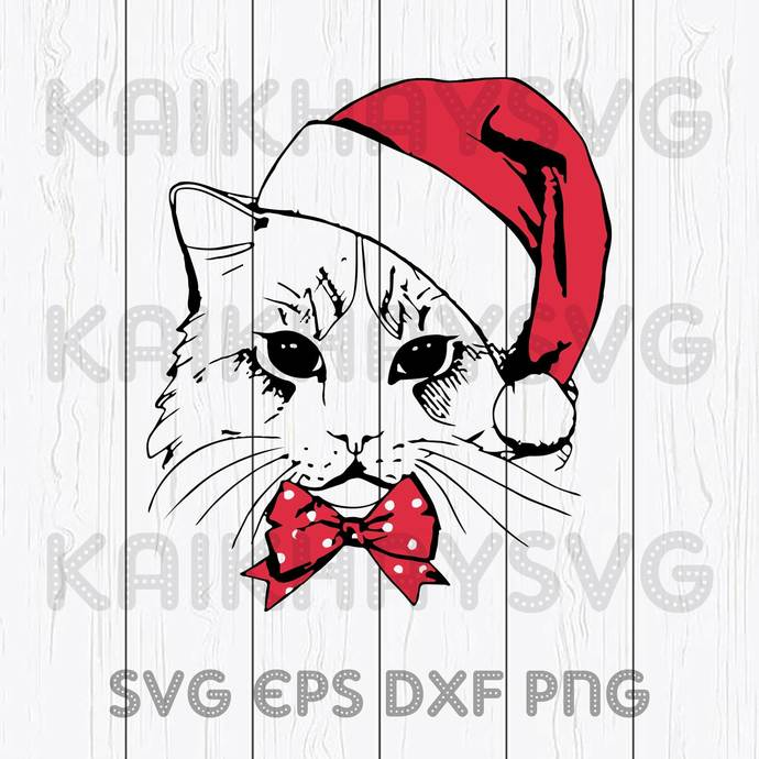 Christmas Cat Sweater 2020 Cricut, SVG, EPS, DXF, JPG, PNG,Instant Download