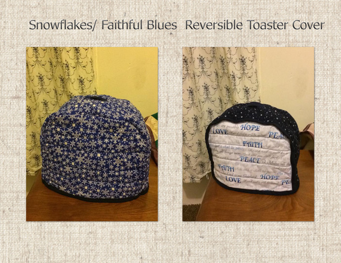 Reversible Toaster Covers- two toast toaster