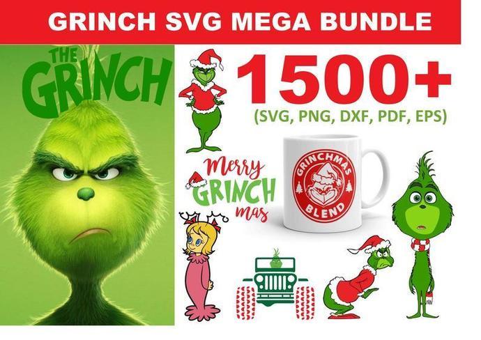 Grinch SVG,Grinch Silhouette Svg,Grinch SVG,Grinch Svg Cricut,Grinch cut