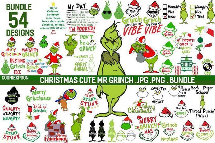 Grinch svg,grinch svg bundle,grinch svg file for cricut,grinch svg images,grinch