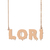 Custom Lori Name Necklace Personalized Gift for Halloween Easter Christmas
