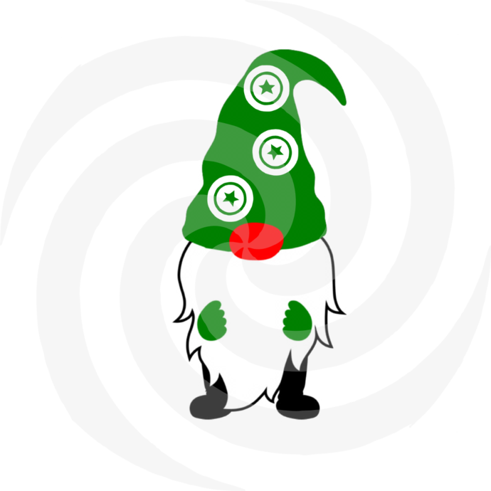 Gnome 4a-Digital ClipArt-Art Clip-Gift
