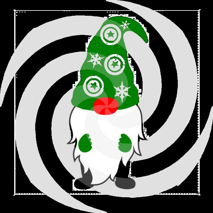 Gnome 5a-Digital ClipArt-Art Clip-Gift