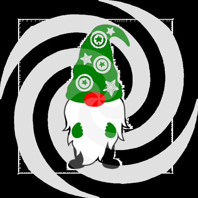Gnome 6a-Digital ClipArt-Art Clip-Gift