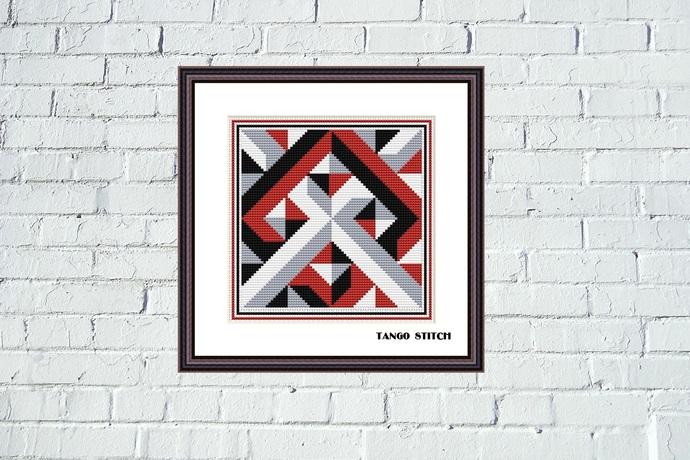 Cross stitch ornament pattern