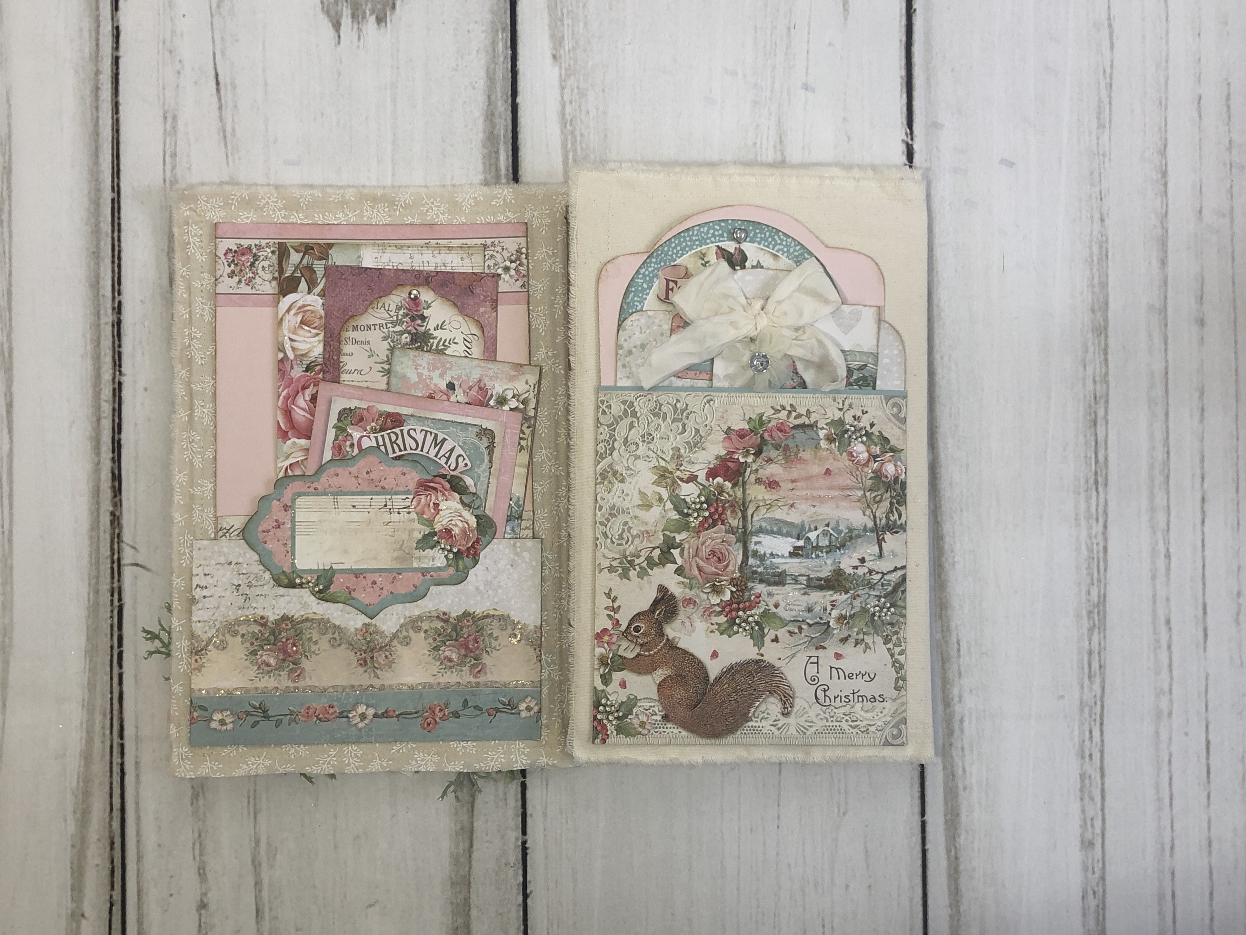 #2 Pink Christmas Folio by Cathy Trumbley