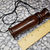 Exotic cocobolo wood hand-turned pocket game call or squawker