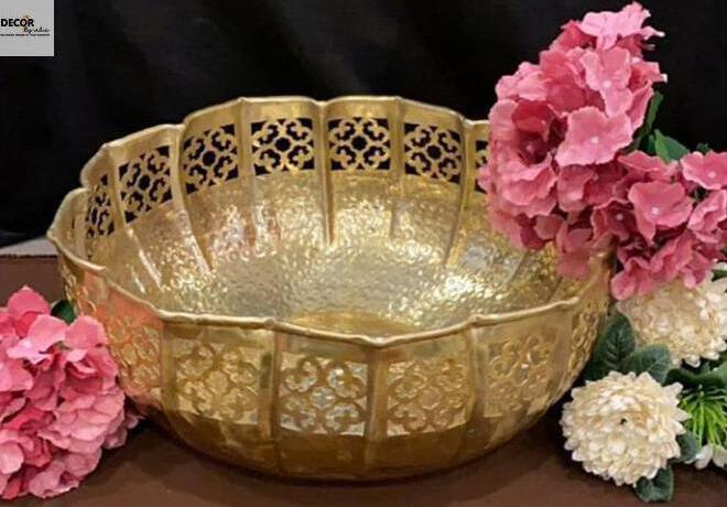 Handmade Brass Urli ( Flower Floater) Set of 2