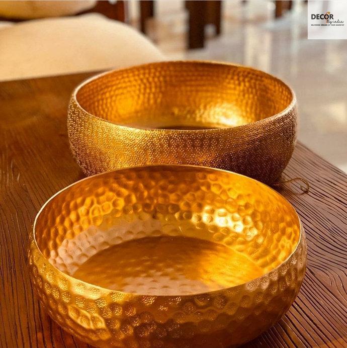 Handmade Brass Urli ( Flower Floater)