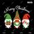 Bundledigital Merry Christmas svg, Christmas Gnomies svg, Christmas Gift, Svg
