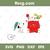 Bundledigital Snoopy Christmas svg, Charlie Brown svg, Ornament svg, Merry