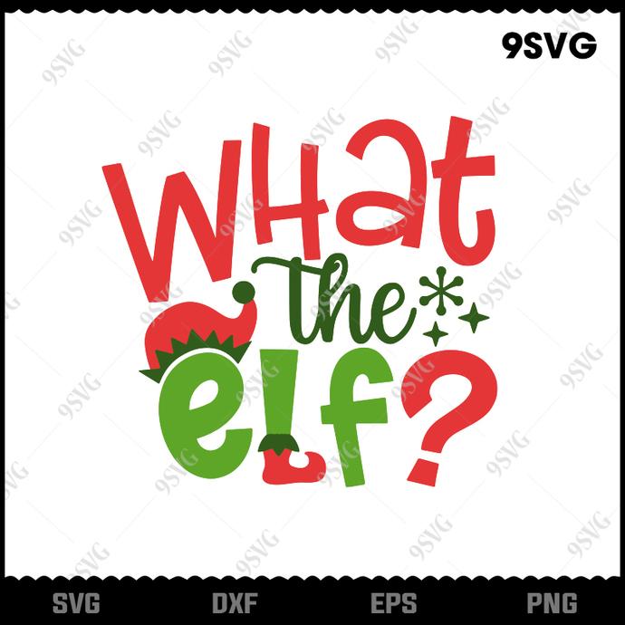 Bundledigital What The Elf svg, Elf Christmas Movies svg, Merry Christmas svg,