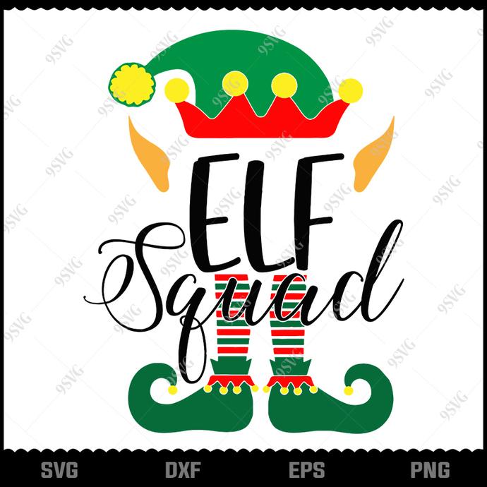 Bundledigital Elf Squad SVG, Elf Christmas Movies SVG, Merry Christmas SVG, SVG