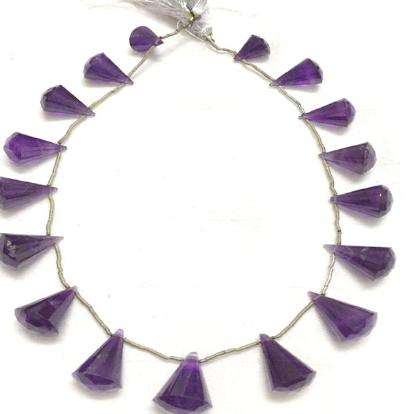 Amethyst Faceted, Drop,Amethyst Faceted Beads,Amethyst Beads for Jewelry