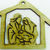 Holy Family Ornament / Laser Cut Wood