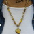 Citrine Sunshine, Bumble Bee Jasper Beaded Necklace, Yellow Necklace, Statement