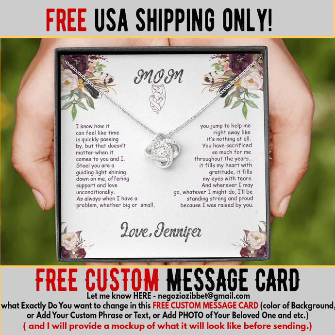 (ALMOST GONE) - Christmas Gifts for Mom - Birthday gifts for Mom - FREE CUSTOM