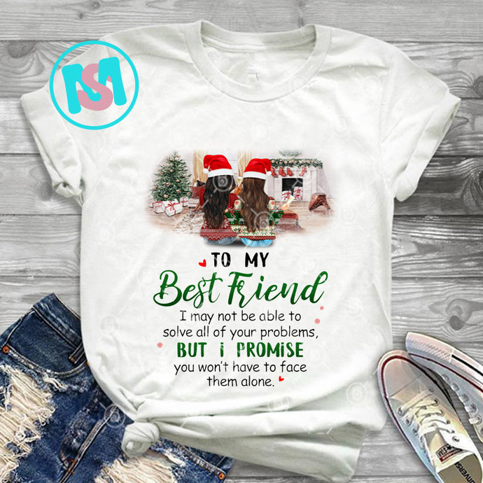 Personalized To My Best Friend Christmas 2020 Bestie PNG, Merry Christmas PNG,