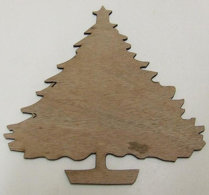 Christmas tree Wood Cut Out / Laser Cut Wood