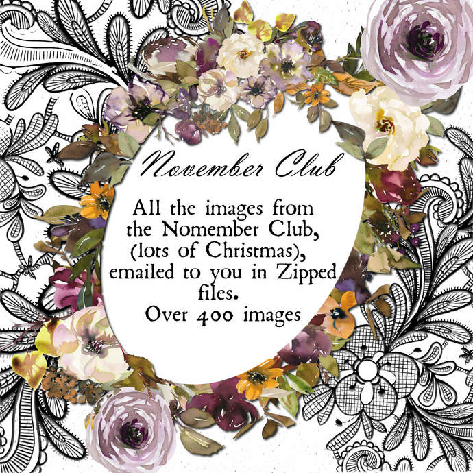 NOVEMBER Vintage Monthly Club, All the Sends Zipped