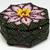 Lotus Flower Beaded Box