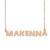 Custom Makenna Name Necklace Personalized Gift for Halloween Easter Christmas