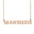 Custom Makenzie Name Necklace Personalized Gift for Halloween Easter Christmas