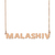 Custom MalaShiv Name Necklace Personalized Gift for Halloween Easter Christmas