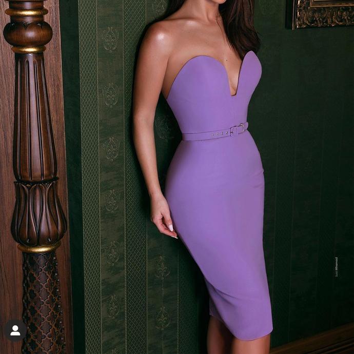 purple evening dresses short vestido de fiesta de curto mermaid modest elegant