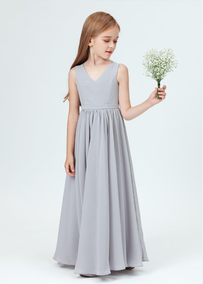 Flower Girl Dresses,Kids Girls Dress For Girls V-neck Ball Gown Little Girl