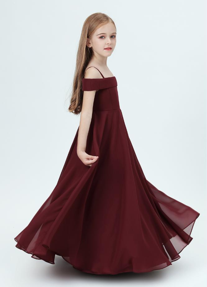 Flower Girl Dresses,Girl's Birthday Party For Kids Banquet Wedding Dress