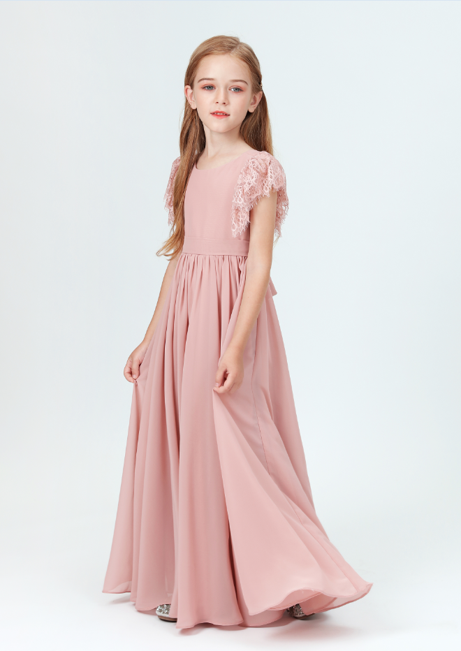 Flower Girl Dresses, Girl Wedding Party Dress Prom Gown Fashion Clothing Short