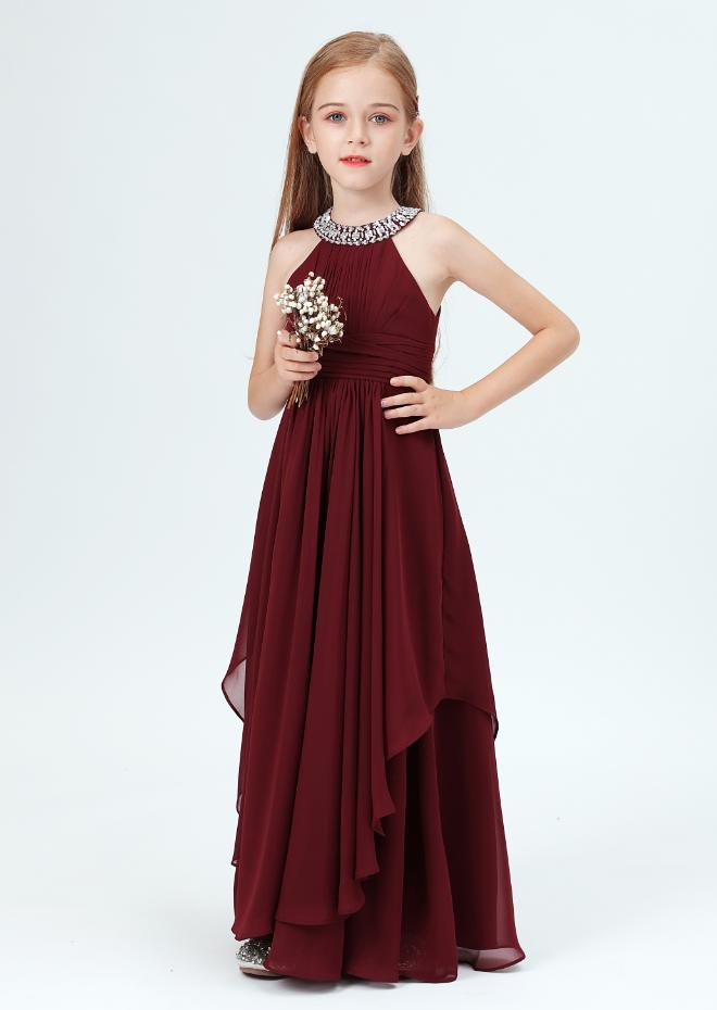 Flower Girl Dresses,Kids Princess Dress New Year Party Costume Little Girl