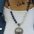 The Wisdom Necklace, Beaded Necklace, Lapis Lazuli, Moonstone Necklace,