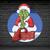 Bundledigital The Grinch Santa SVG, Chimney SVG, Chrismas SVG, Merry Christmas