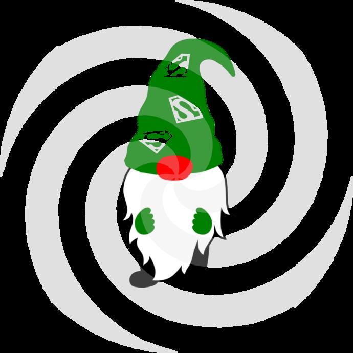 Gnome 7a-Digital ClipArt-Art Clip-Gift