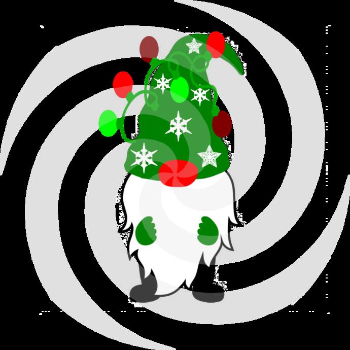 Gnome 10a-Digital ClipArt-Art Clip-Gift