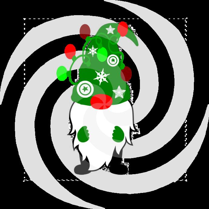 Gnome 12a-Digital ClipArt-Art Clip-Gift