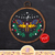 Celestial Death's-head Hawkmoth | Digital Download | Round Cross Stitch Pattern