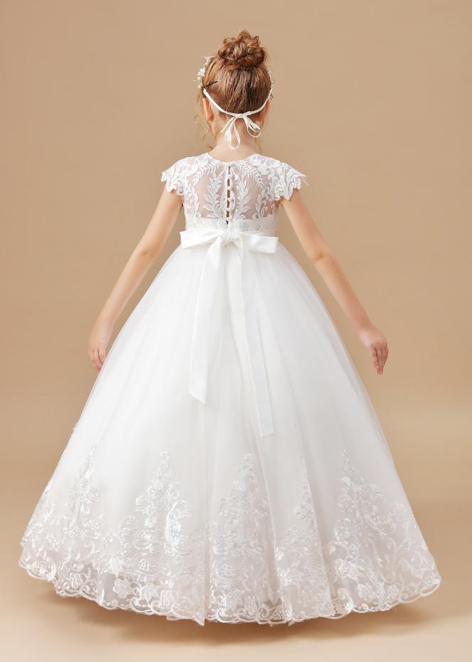 Flower Girl Dresses,Sleeveless Baby Kids Clothes Children Kids Clothing