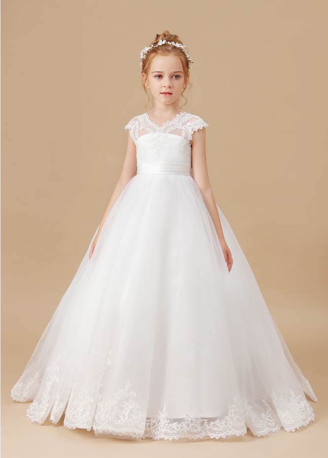 Flower Girl Dresses,Children Clothes Birthday Dresses Sleeveless Princess Party