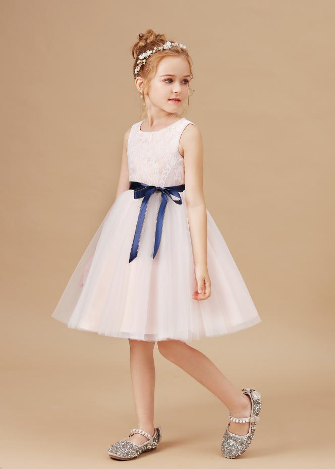 Flower Girl Dresses,Princess Kids Baby Dress Girls Fancy Wedding Dress