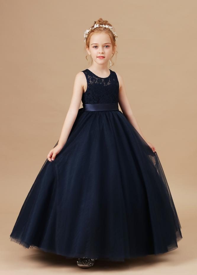 Flower Girl Dresses,Kids Girls Wedding Flower Girl Dress Princess Party Pageant