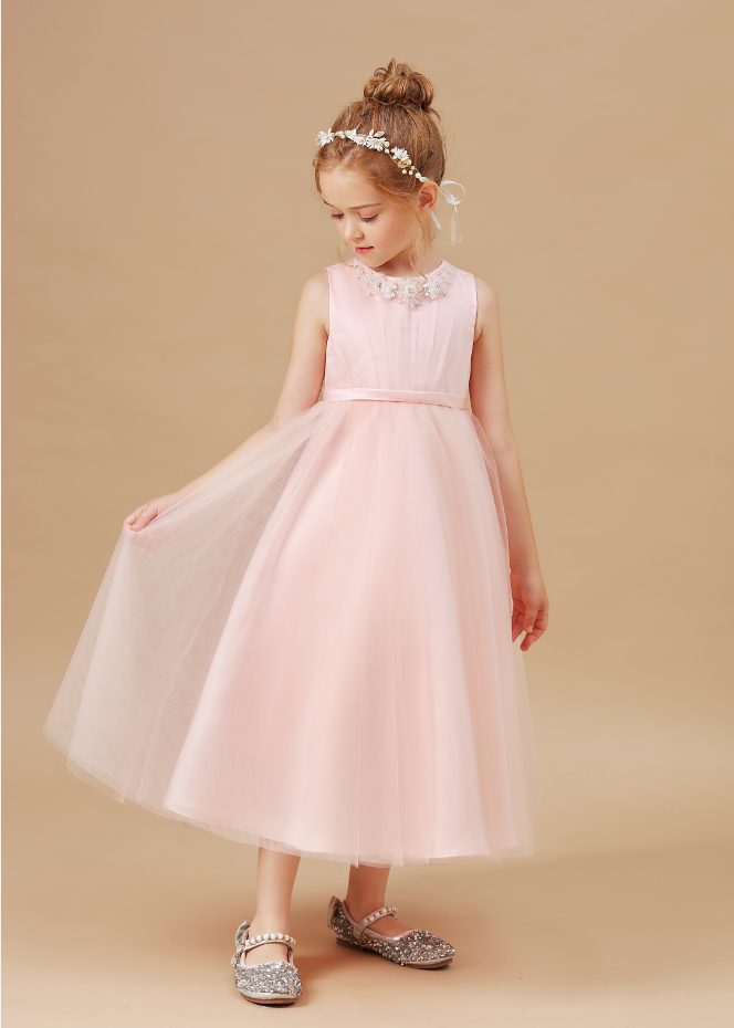 Flower Girl Dresses,Kid Dress For Girl Birthday Christmas Clothes Party Costume